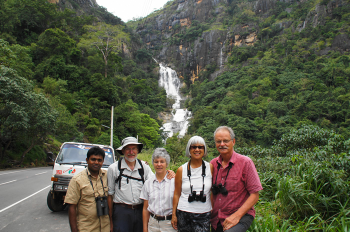 Nandana, Nicholas and Carol King, Judy and Michael Bates